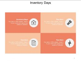 Inventory Days Ppt Powerpoint Presentation Styles File Formats Cpb