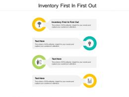 Inventory First In First Out Ppt Powerpoint Presentation Outline Themes Cpb