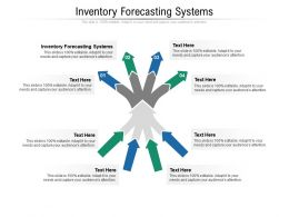 Inventory Forecasting Systems Ppt Powerpoint Presentation Show Outline Cpb