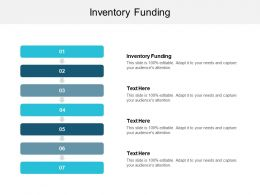 Inventory Funding Ppt Powerpoint Presentation Gallery Icon Cpb