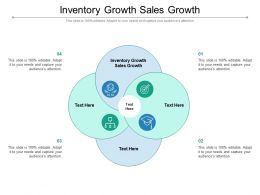 Inventory Growth Sales Growth Ppt Powerpoint Presentation Infographic Template Structure Cpb