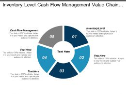 Inventory Level Cash Flow Management Value Chain Analysis Cpb