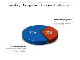 Inventory Management Business Intelligence Internet Marketing Organization Change Cpb