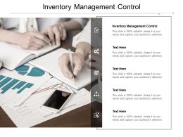 Inventory Management Control Ppt Powerpoint Presentation Infographics Designs Download Cpb