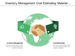 Inventory Management Cost Estimating Material Handling Project Scheduling