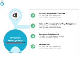 Inventory Management Economic Order Ppt Powerpoint Presentation Icon Layout
