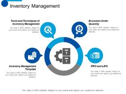 Inventory Management Economic Order Quantity Ppt Styles Design Inspiration