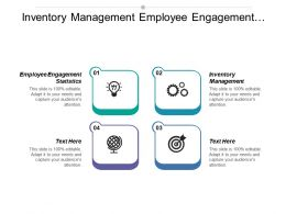 Inventory Management Employee Engagement Statistics Investment Analysis Business Development Cpb