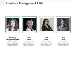 Inventory Management Erp Ppt Powerpoint Presentation Portfolio Elements Cpb