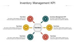 Inventory Management KPI Ppt Powerpoint Presentation Infographic Template Cpb