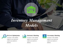 Inventory Management Models Powerpoint Slide Deck