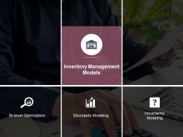 Inventory Management Models Ppt Slide Design