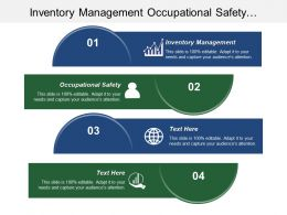 Inventory Management Occupational Safety Marketing Infographics Marketing Management Cpb