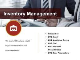 Inventory Management Powerpoint Slide Design Ideas