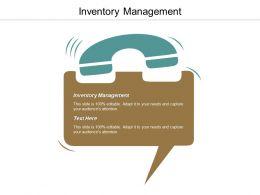 Inventory Management Ppt Powerpoint Presentation Portfolio Show Cpb