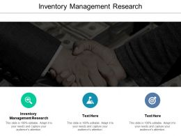 Inventory Management Research Ppt Powerpoint Presentation Styles Maker Cpb