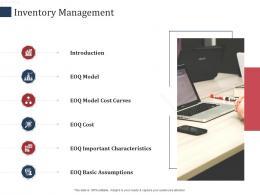 Inventory Management SCM Performance Measures Ppt Mockup