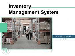 Inventory Management System Powerpoint Presentation Slides