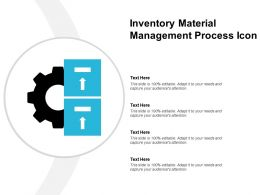 Inventory Material Management Process Icon