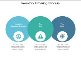 Inventory Ordering Process Ppt Powerpoint Presentation Summary Introduction Cpb