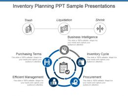 Inventory Planning Ppt Sample Presentations