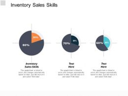 Inventory Sales Skills Ppt Powerpoint Presentation Model Layouts Cpb