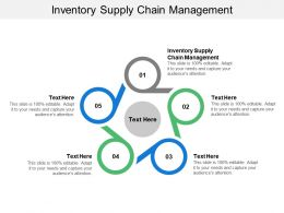 Inventory Supply Chain Management Ppt Powerpoint Presentation Gallery Design Ideas Cpb