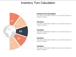 Inventory Turn Calculation Ppt Powerpoint Presentation Styles Format Cpb