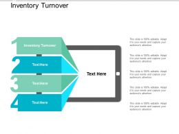Inventory Turnover Ppt Powerpoint Presentation Model Background Images Cpb