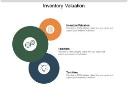 Inventory Valuation Ppt Powerpoint Presentation File Design Ideas Cpb