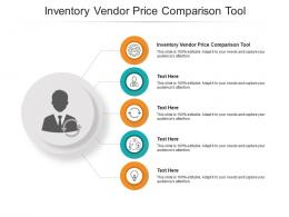 Inventory Vendor Price Comparison Tool Ppt Powerpoint Presentation Summary Example File Cpb