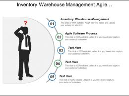 Inventory Warehouse Management Agile Software Process Product Backlog