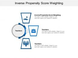 Inverse Propensity Score Weighting Ppt Powerpoint Presentation Ideas Information Cpb