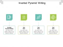 Inverted Pyramid Writing Ppt Powerpoint Presentation Icon Ideas Cpb