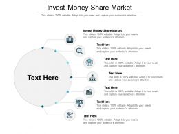 Invest Money Share Market Ppt Powerpoint Presentation Infographic Template Good Cpb