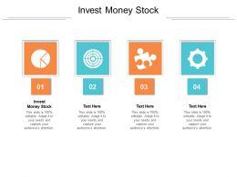 Invest Money Stock Ppt Powerpoint Presentation Portfolio Infographics Cpb