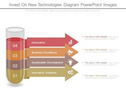 Invest On New Technologies Diagram Powerpoint Images