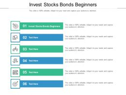 Invest Stocks Bonds Beginners Ppt Powerpoint Presentation Inspiration Icon Cpb