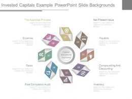 Invested Capitals Example Powerpoint Slide Backgrounds