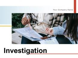Investigation Magnifying Glass Evidence Research Individual Identifying