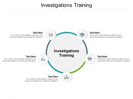 Investigations Training Ppt Powerpoint Presentation Show Slide Download Cpb