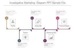 Investigative Marketing Diagram Ppt Sample File