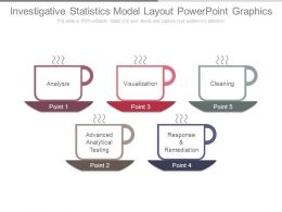 Investigative Statistics Model Layout Powerpoint Graphics