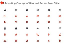 Investing Concept Of Risk And Return Icon Slide Team I321 Ppt Powerpoint Presentation