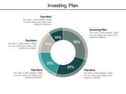 Investing Plan Ppt Powerpoint Presentation Model Samples Cpb