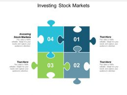 Investing Stock Markets Ppt Powerpoint Presentation Gallery Shapes Cpb