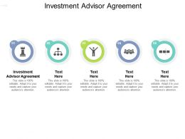 Investment Advisor Agreement Ppt Powerpoint Presentation Summary Format Ideas Cpb