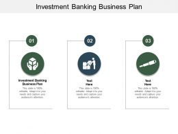 Investment Banking Business Plan Ppt Powerpoint Presentation Layouts Example Introduction Cpb