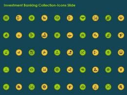 Investment Banking Collection Icons Slide Ppt Diagrams