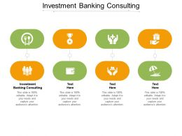 Investment Banking Consulting Ppt Powerpoint Presentation Outline Rules Cpb